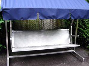 Metalldesign Möbel, Ladenbau und  Gartenmöbel aus Edelstahl!